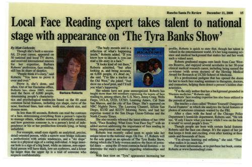 Rancho Sante Fe Review article